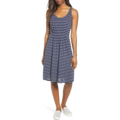 Caslon Sleeveless Knit Dress, Blue