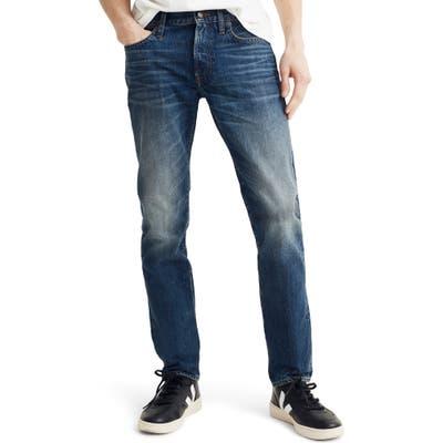 Madewell Rigid Slim Fit Jeans, Blue