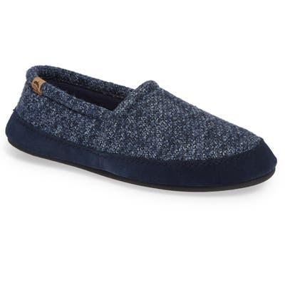 Acorn Moc Slipper, Blue