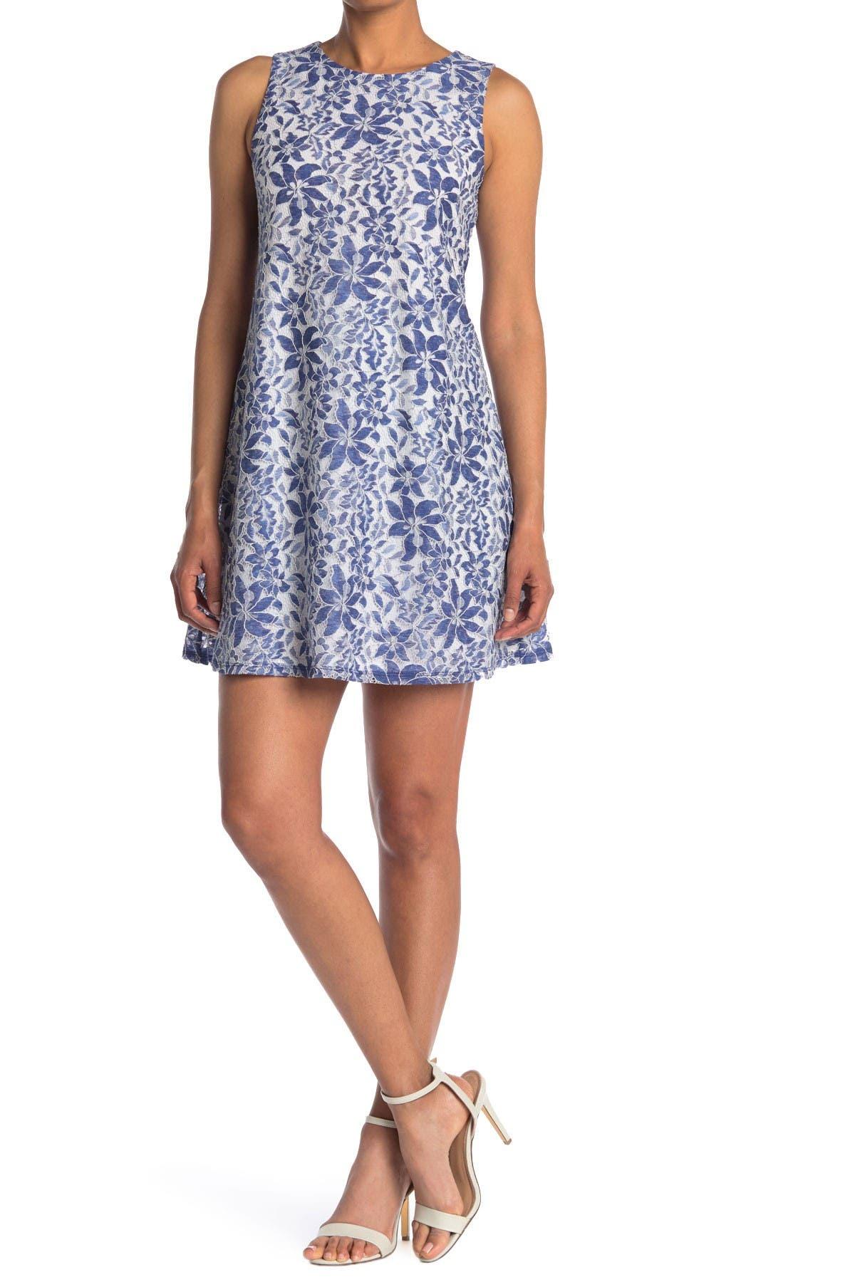Image of Eliza J Sleeveless Floral Dress