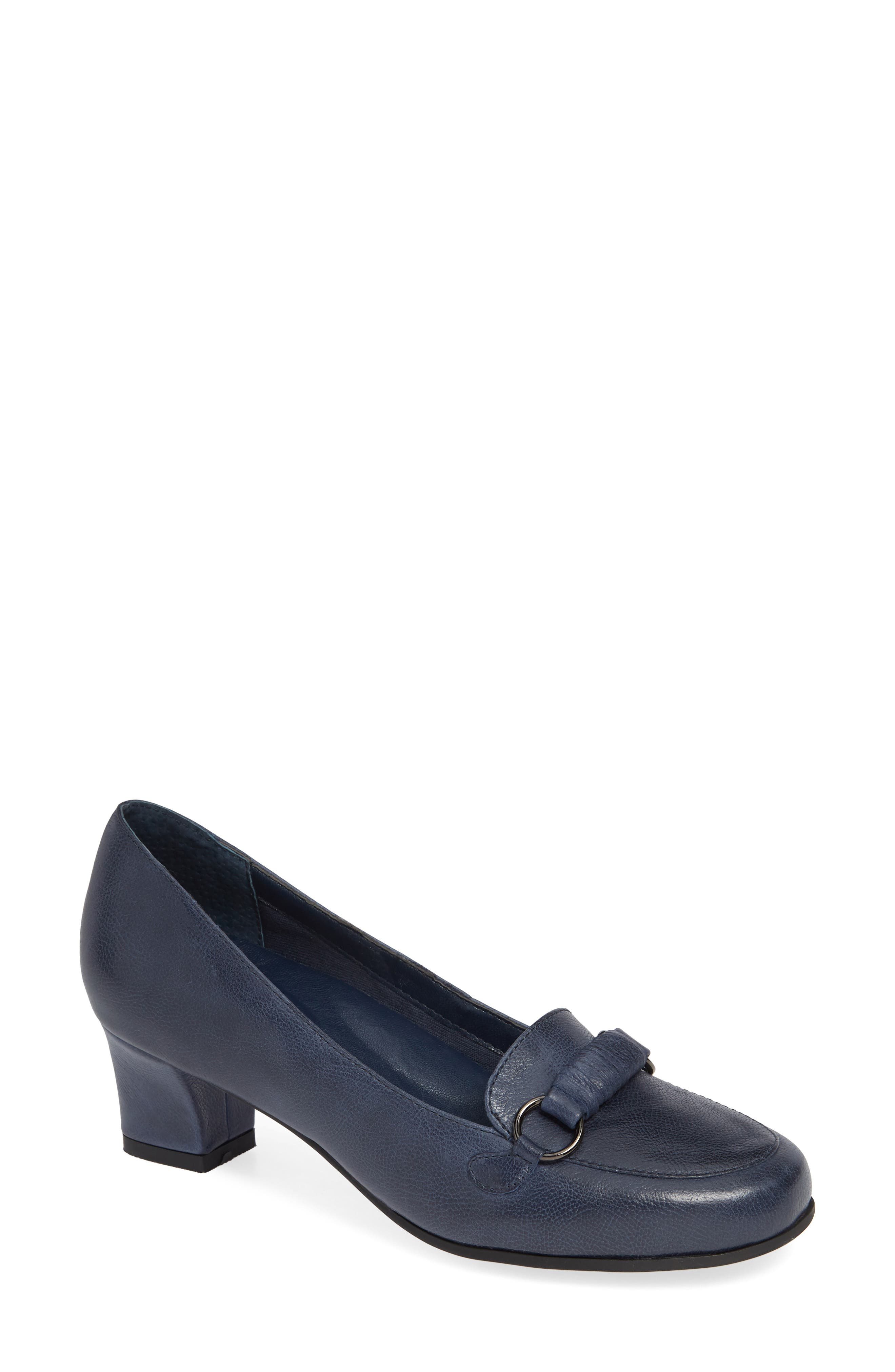 David Tate Perky Loafer Pump, Blue