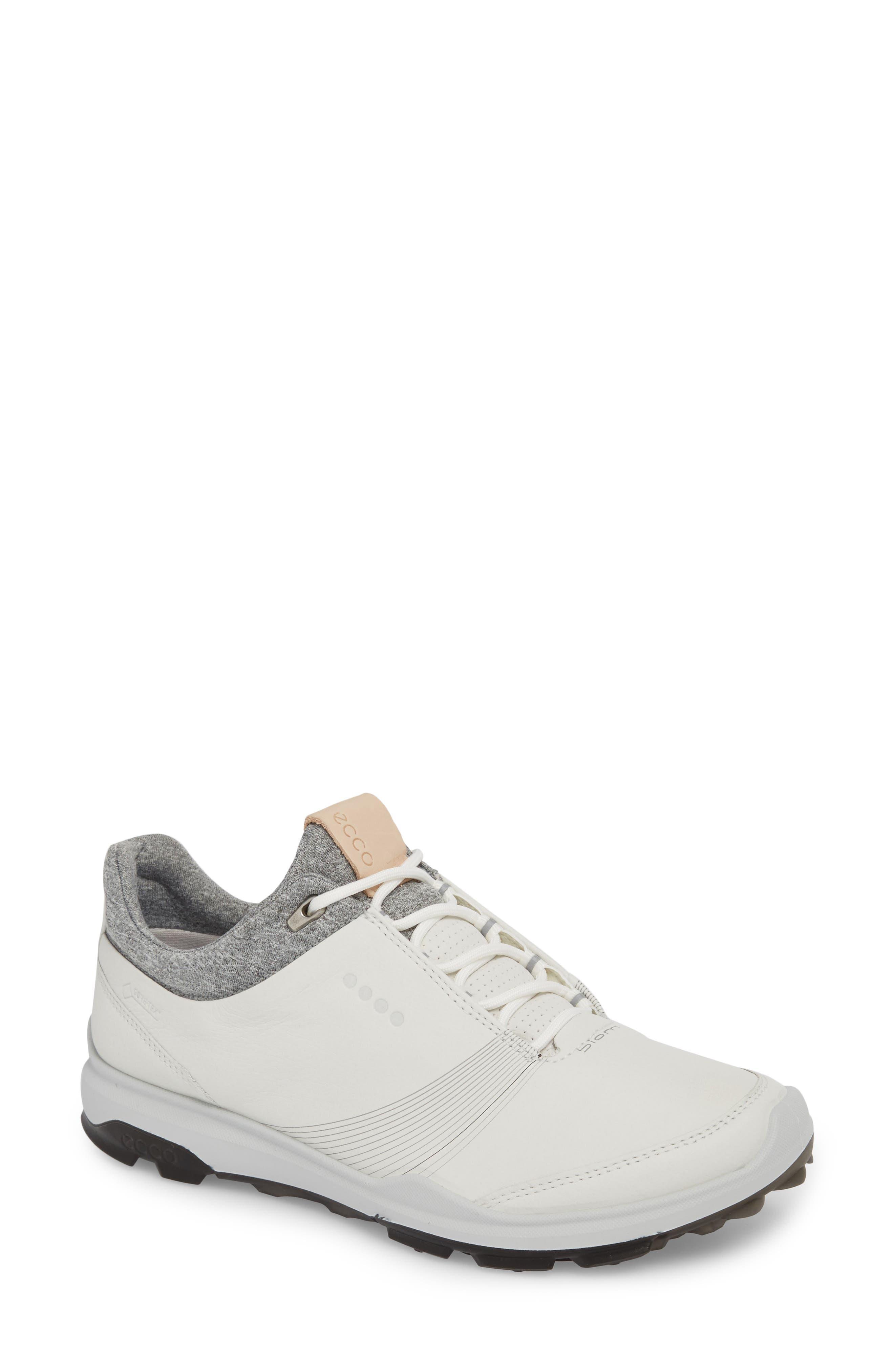 Ecco Biom Hybrid 3 Gtx Golf Shoe, White