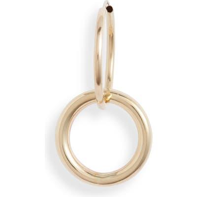 Loren Stewart Moderna Single Aerial Infinity Hoop Earring