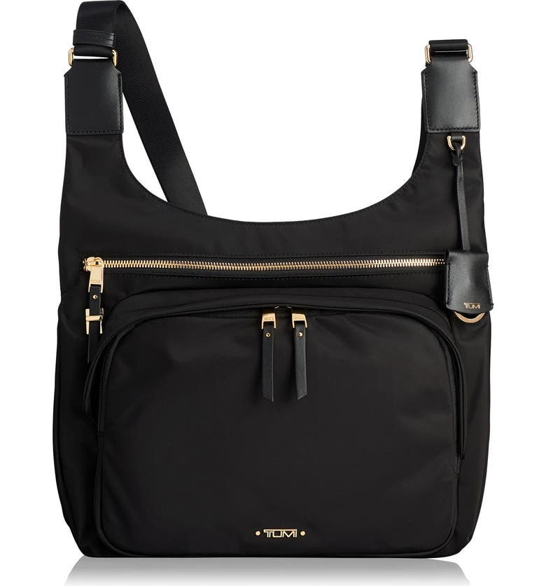 TUMI Voyager - Siam Nylon Crossbody Bag, Main, color, 001