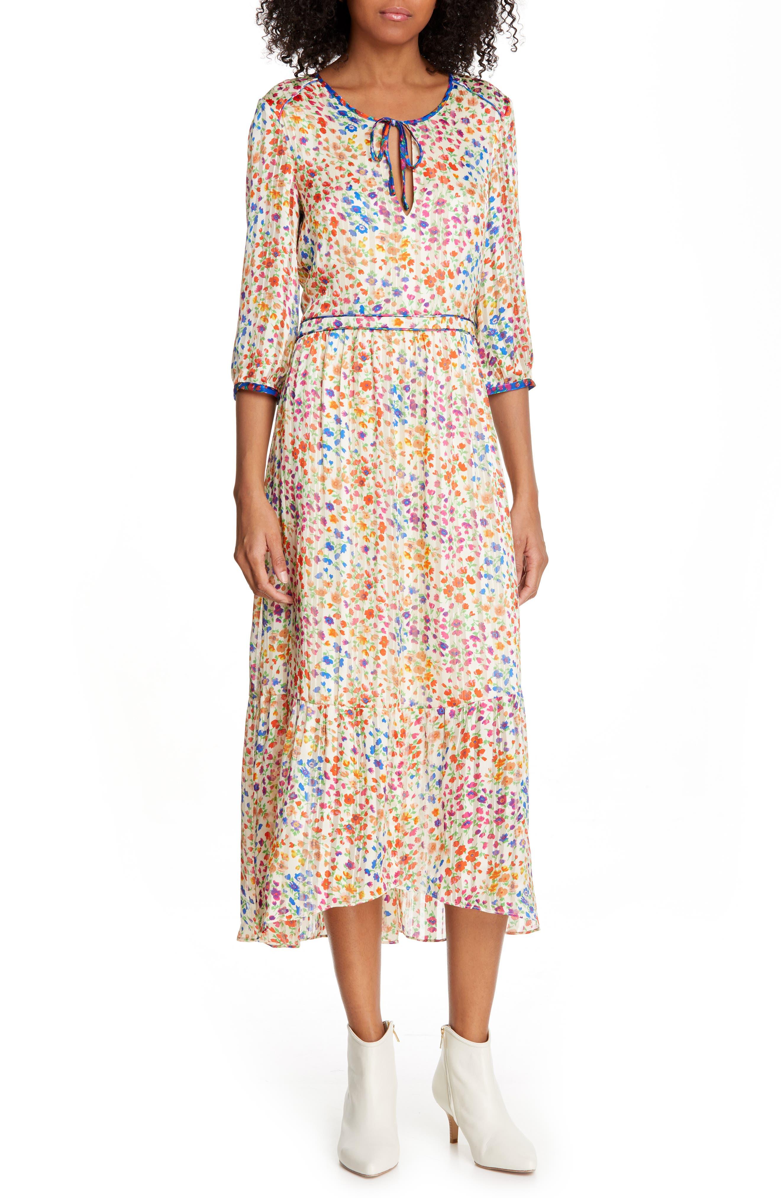 Ba & sh Reese Midi Dress, White