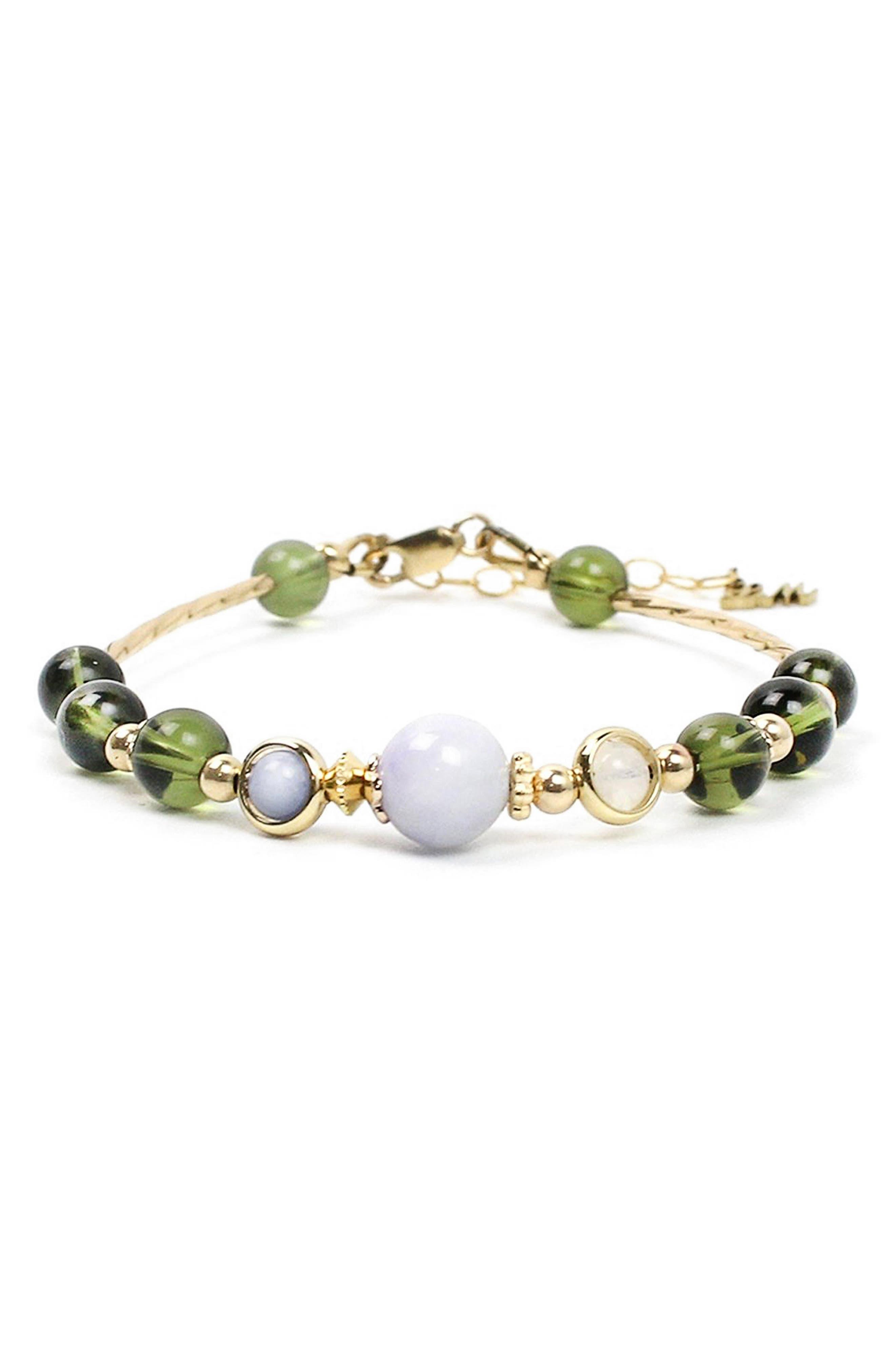 Alien Energy Stone Bracelet