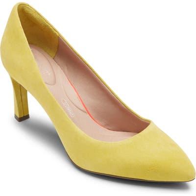 Rockport Sheehan Pump- Yellow