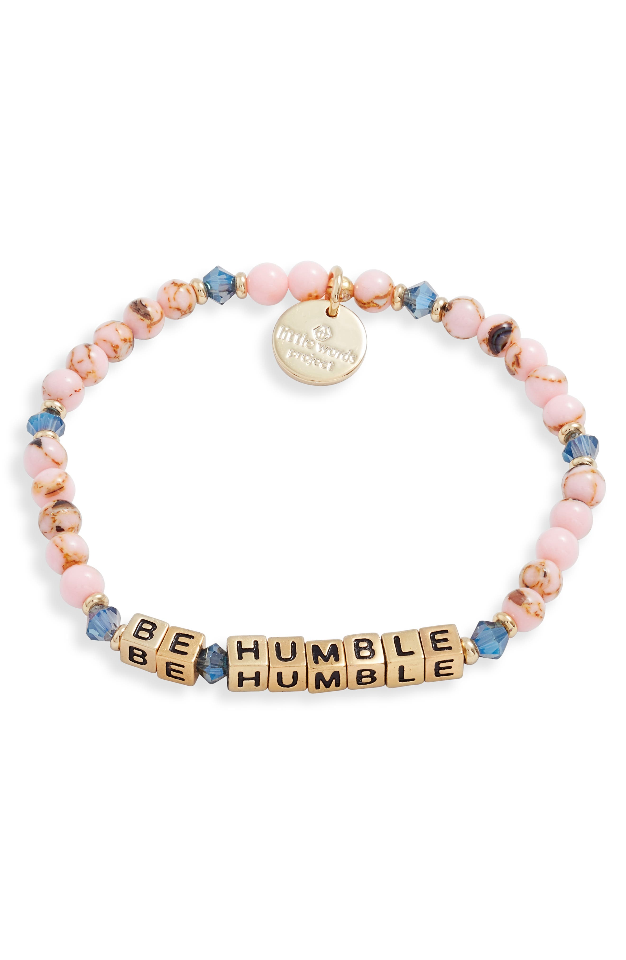 Be Humble Beaded Stretch Bracelet