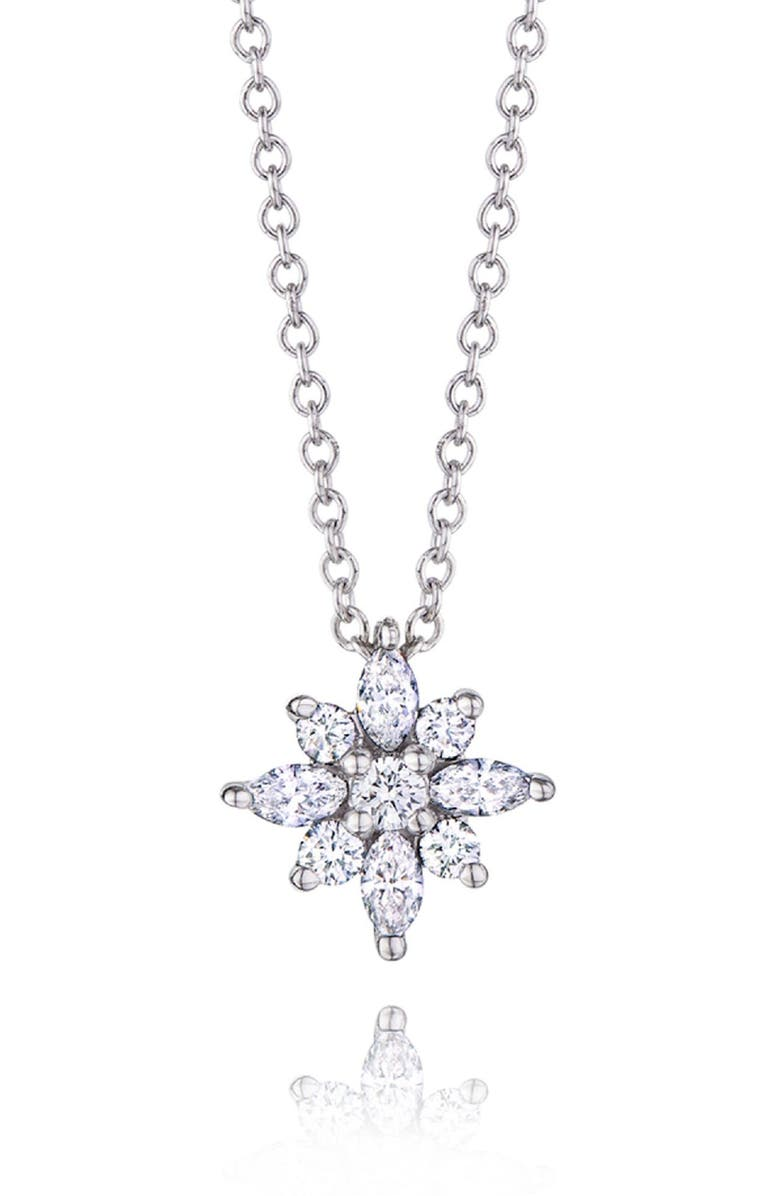 KWIAT 0.24ct. tw Diamond Star Pendant Necklace, Main, color, 711