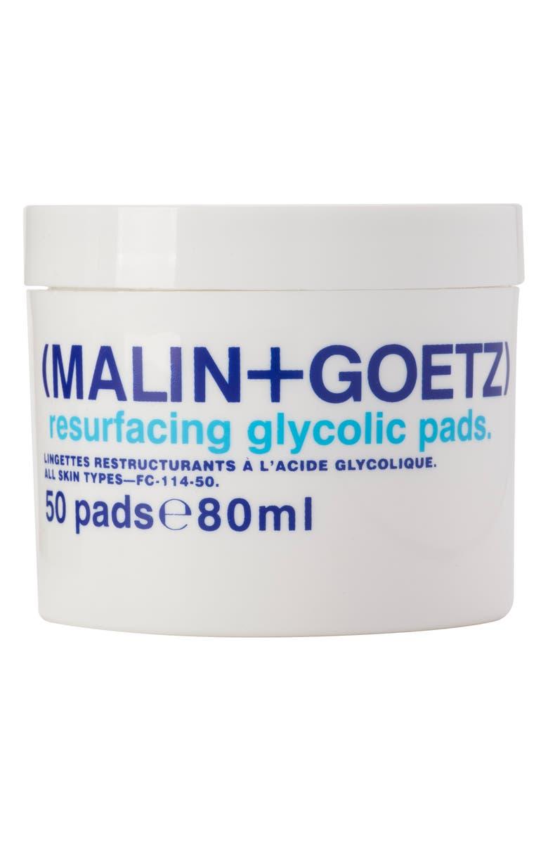 MALIN+GOETZ Resurfacing Glycolic Acid Pads, Main, color, NO COLOR