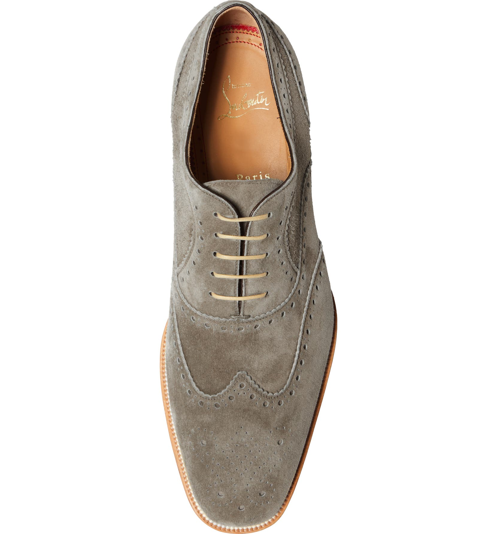 cbeac1396ae Christian Louboutin Charlie Brogue Wingtip Oxford (Men) | Nordstrom
