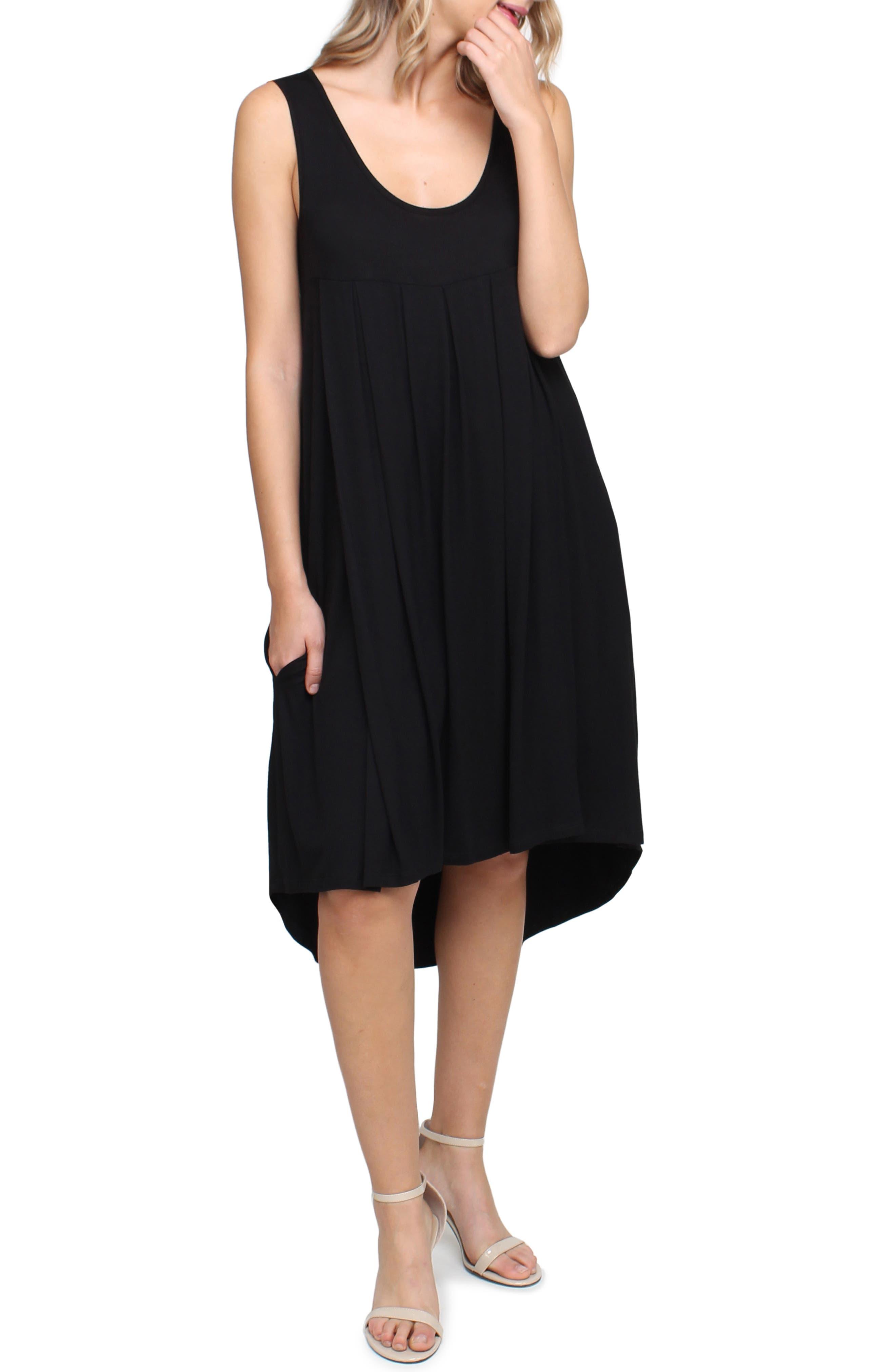 Savi Mom Makena Maternity/nursing Dress, Black