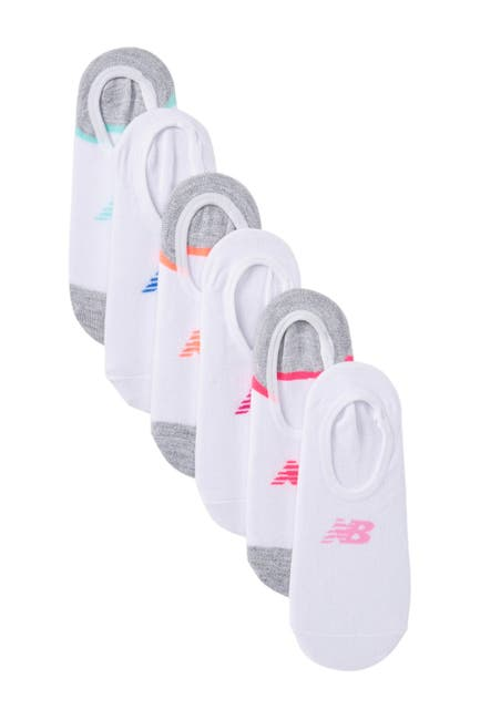 Image of New Balance No-Show Liners - Pack of 6