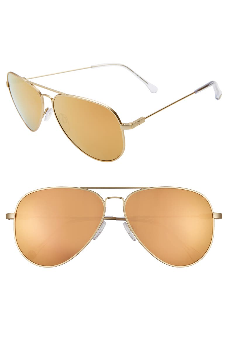 ELECTRIC AV1 XL 60mm Aviator Sunglasses