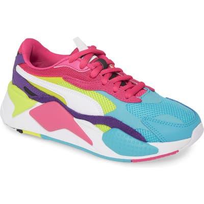 Puma Rs-X3 Puzzle Sneaker- Blue