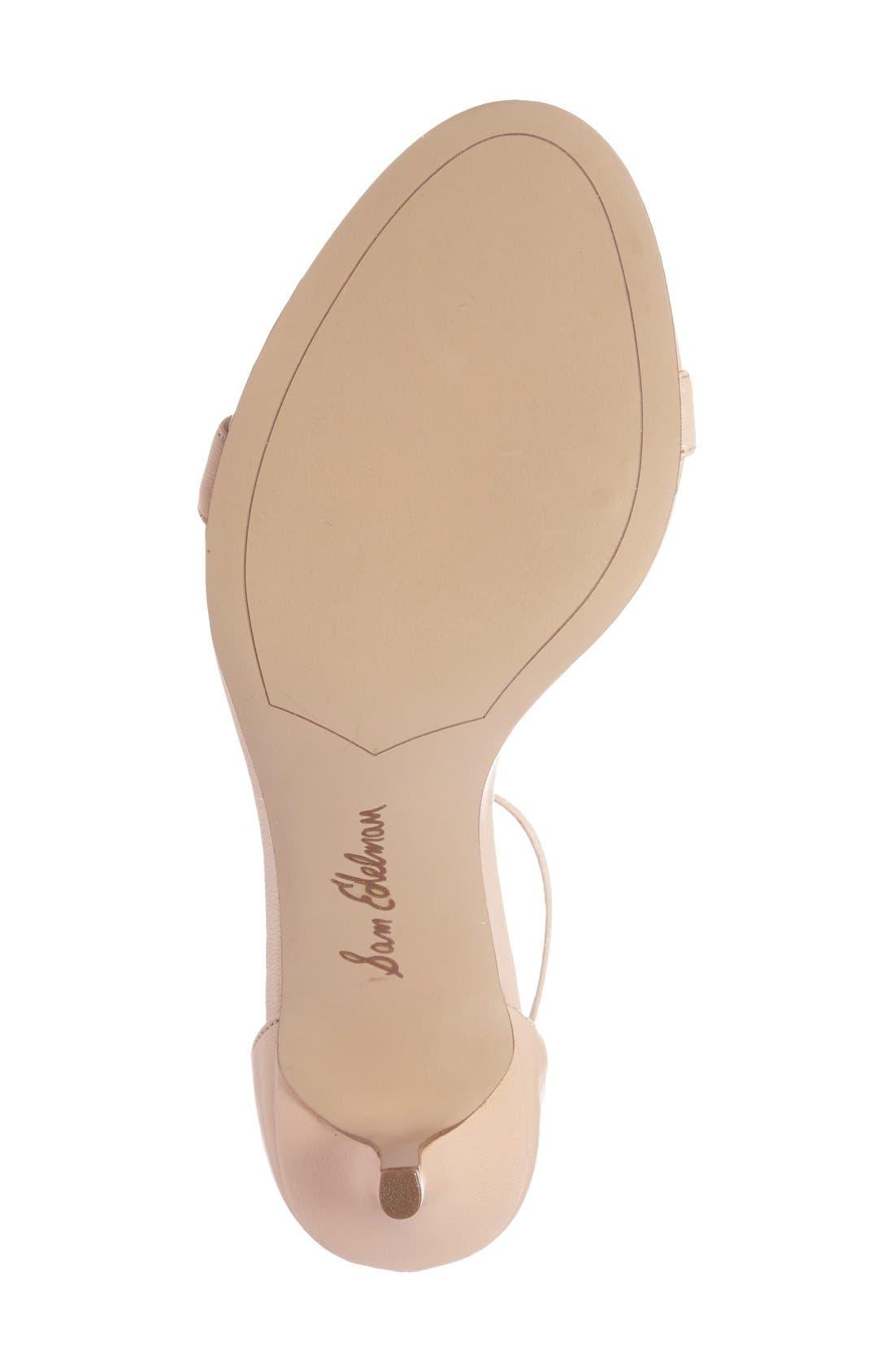 ,                             'Patti' Ankle Strap Sandal,                             Alternate thumbnail 187, color,                             253