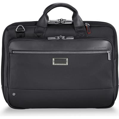 Briggs & Riley @work Medium Briefcase - Black