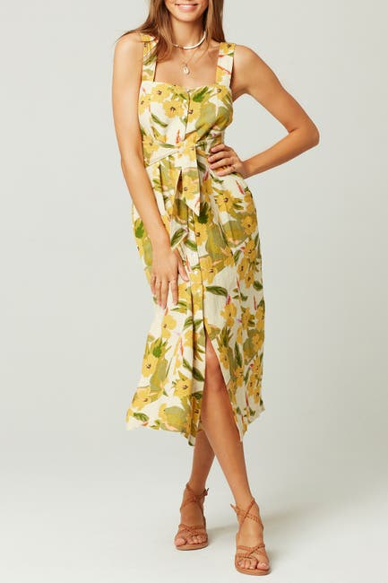 Image of L*Space Mykonos Floral Dress