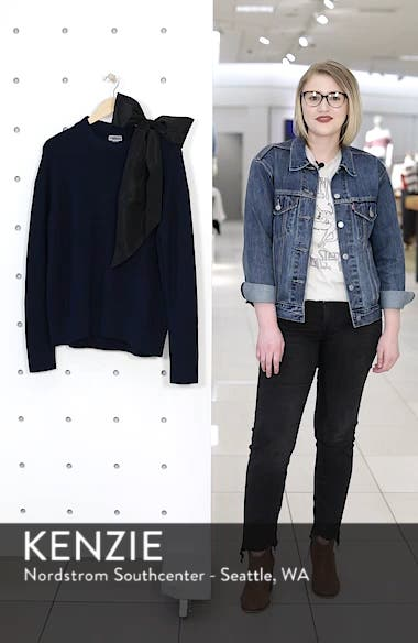 Bow Shoulder Sweater, sales video thumbnail