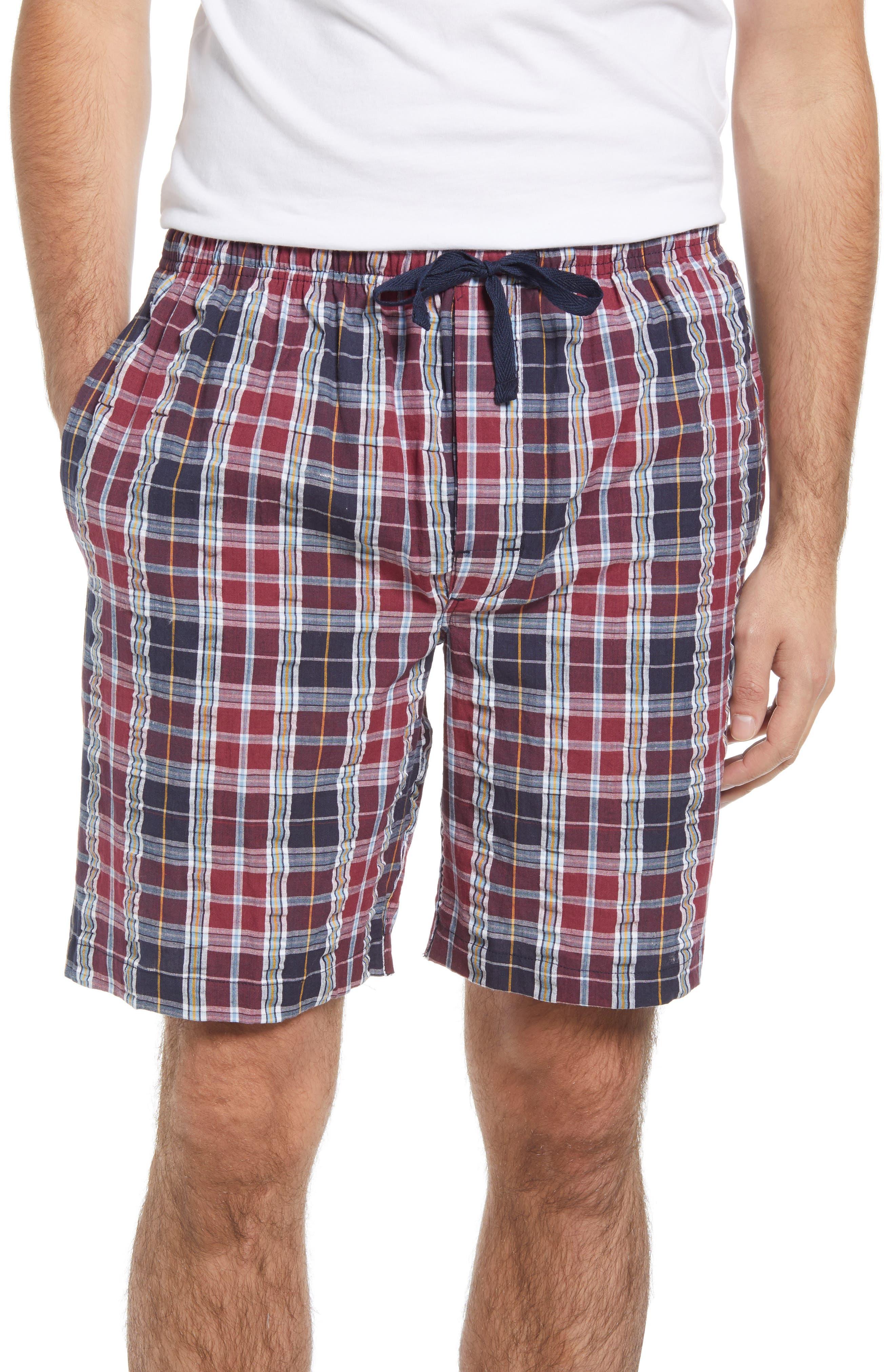 Men's Sun Up Seersucker Lounge Shorts