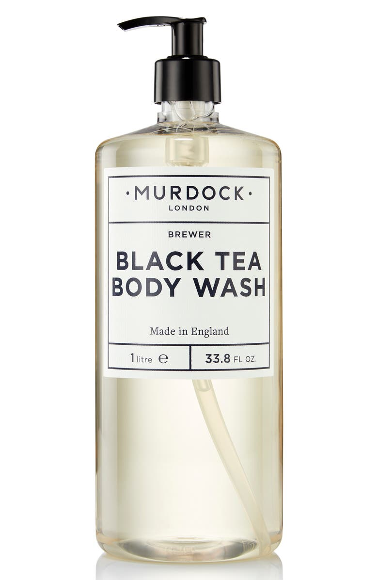 MURDOCK LONDON Jumbo Size Black Tea Body Wash, Main, color, NO COLOR