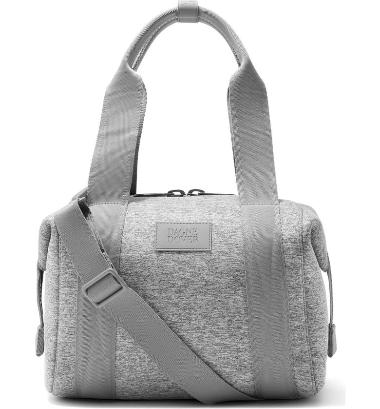 DAGNE DOVER 365 Small Landon Carryall Duffle Bag, Main, color, HEATHER GREY