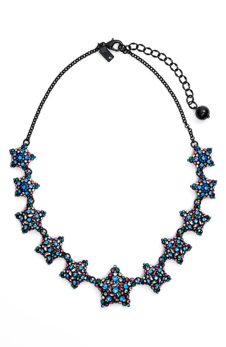 KATE SPADE NEW YORK 'bright star' collar necklace, Main, color, 400