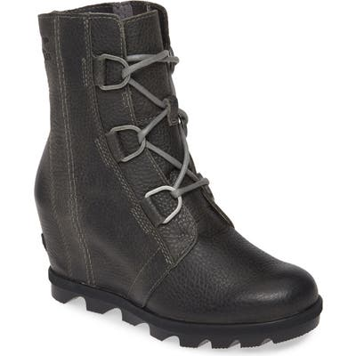 Sorel Joan Of Arctic Ii Waterproof Wedge Boot- Grey