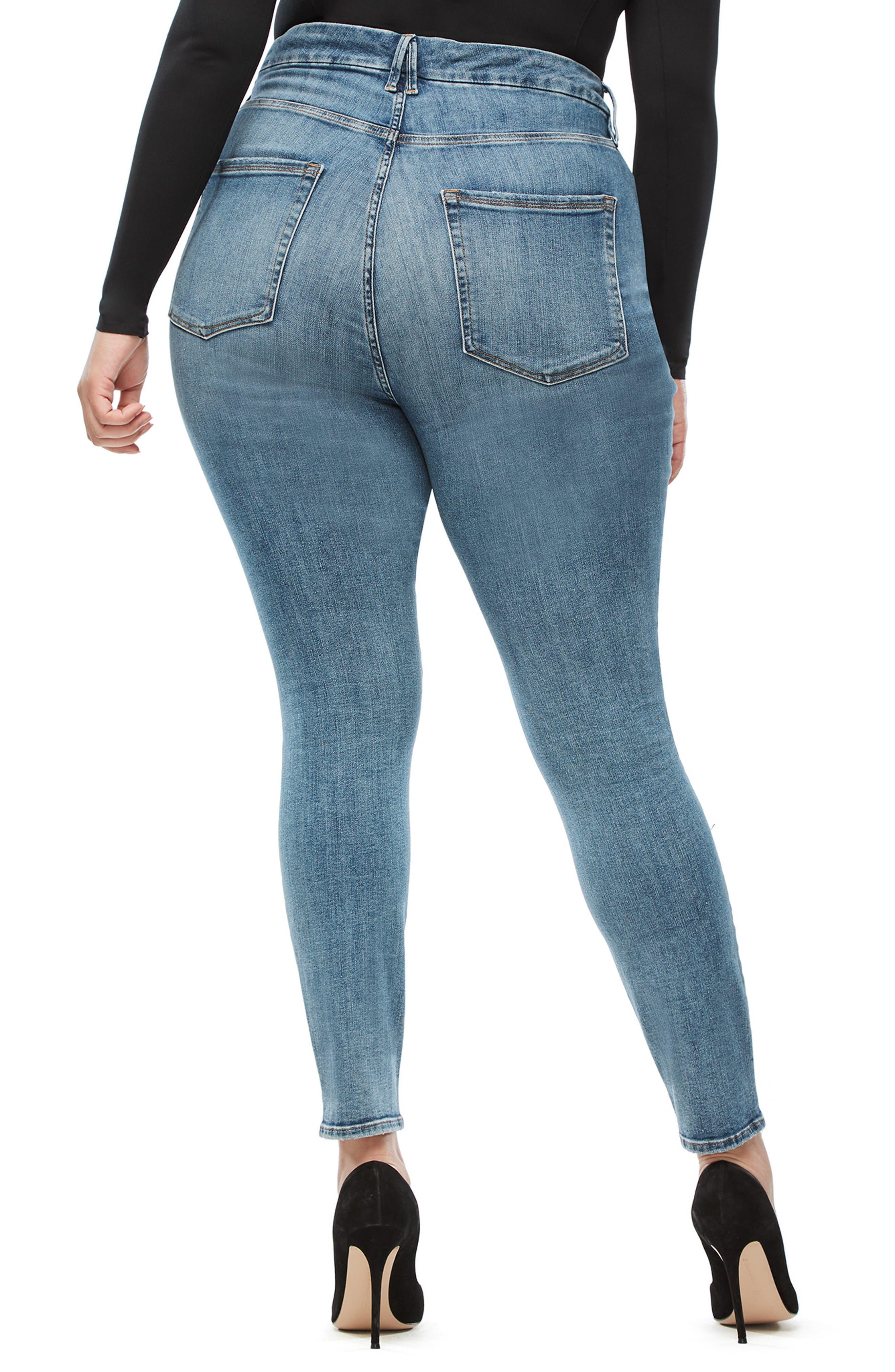 ,                             Good Legs High Waist Skinny Jeans,                             Alternate thumbnail 50, color,                             407