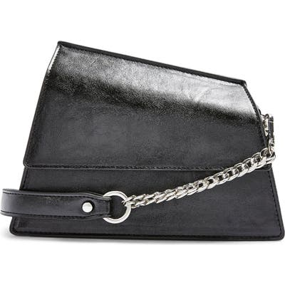 Topshop Star Snakeskin Print Shoulder Bag -