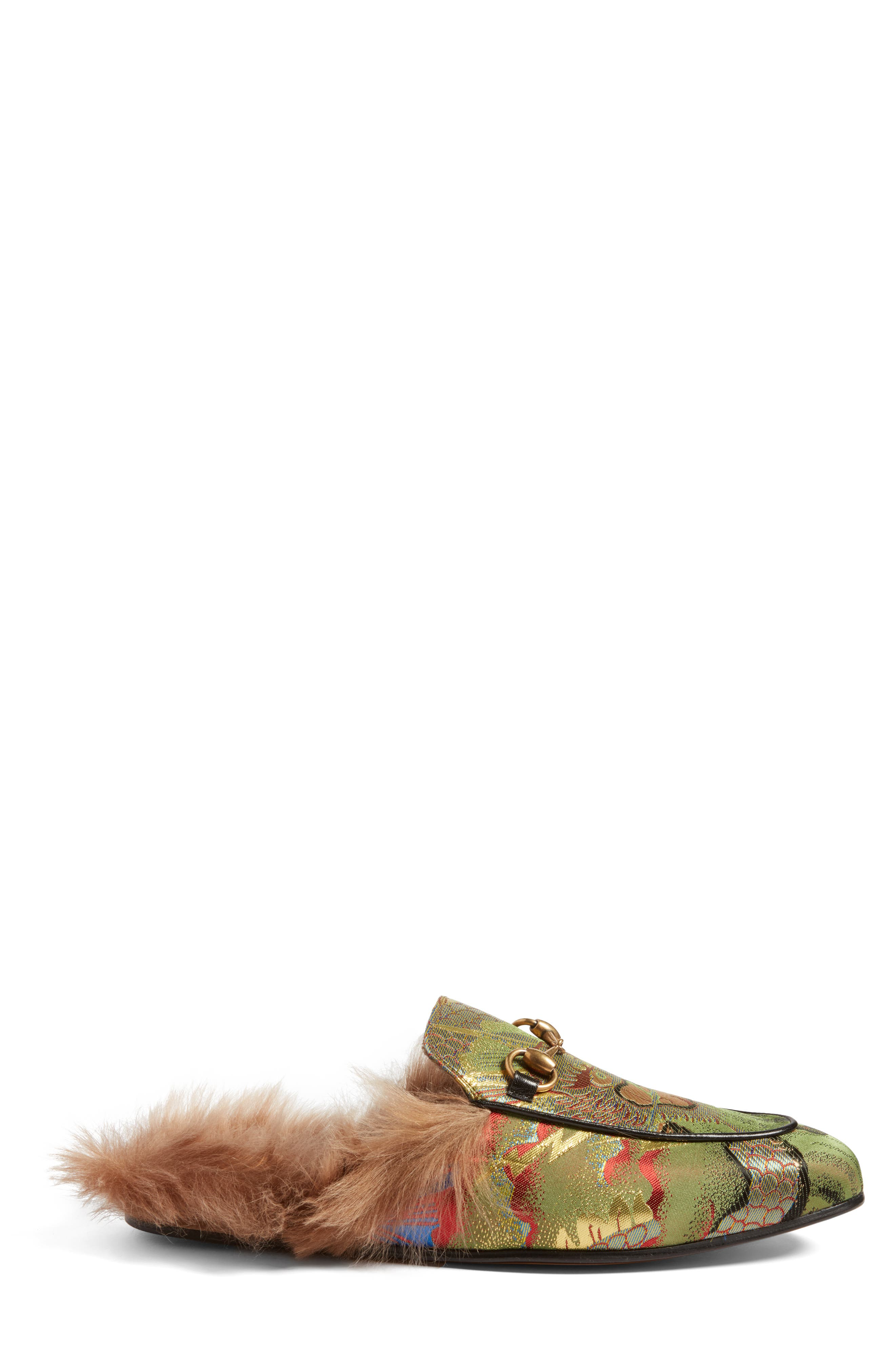 ,                             Princetown Genuine Shearling Lined Mule Loafer,                             Alternate thumbnail 51, color,                             351