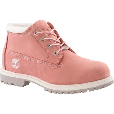 Timberland Nellie Waterproof Chukka Boot, Pink
