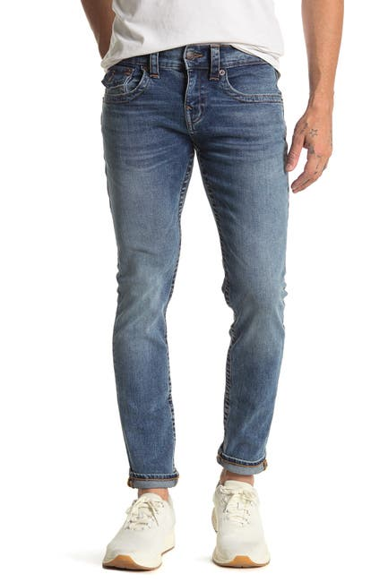 Image of True Religion Rocco Flap Skinny Jeans