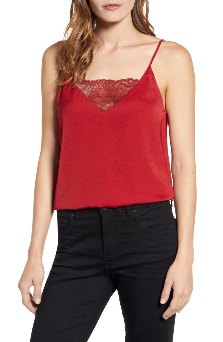 1.STATE Lace Inset Camisole, Main, color, SPICED APPLE