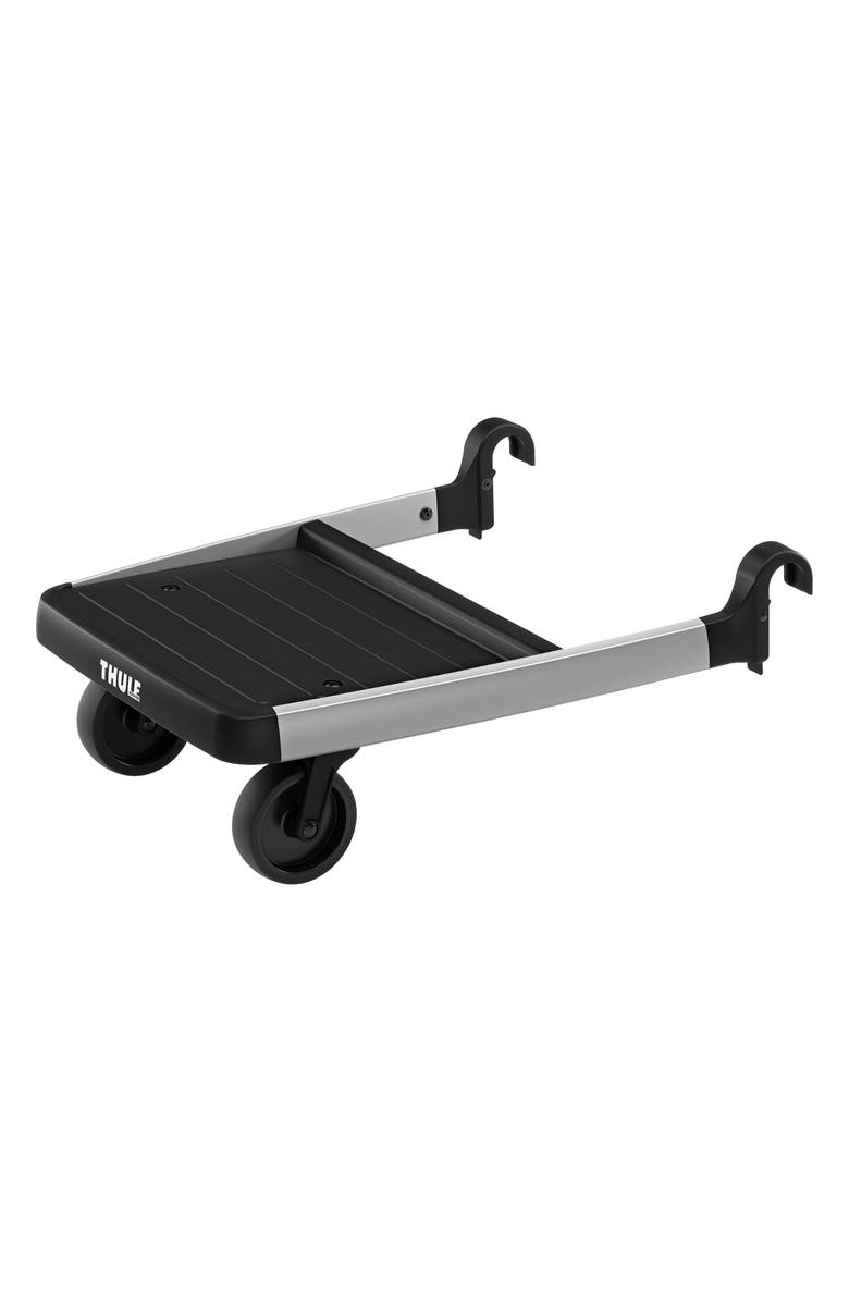 THULE Glider Board Attachment for Thule Spring or Sleek Strollers, Main, color, BLACK/ SILVER