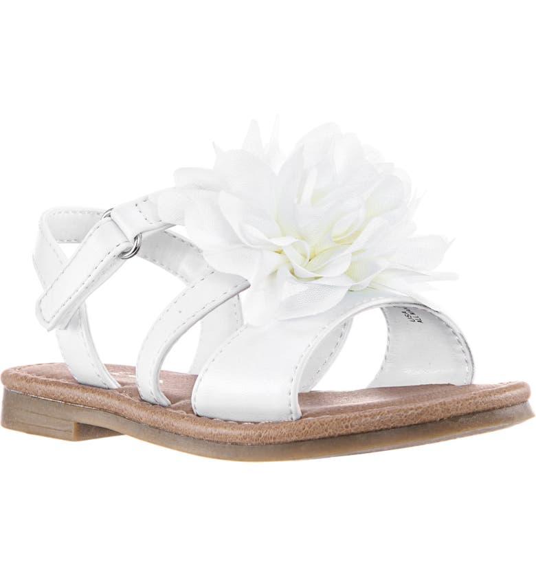 NINA Anaya Sandal, Main, color, WHITE SMOOTH