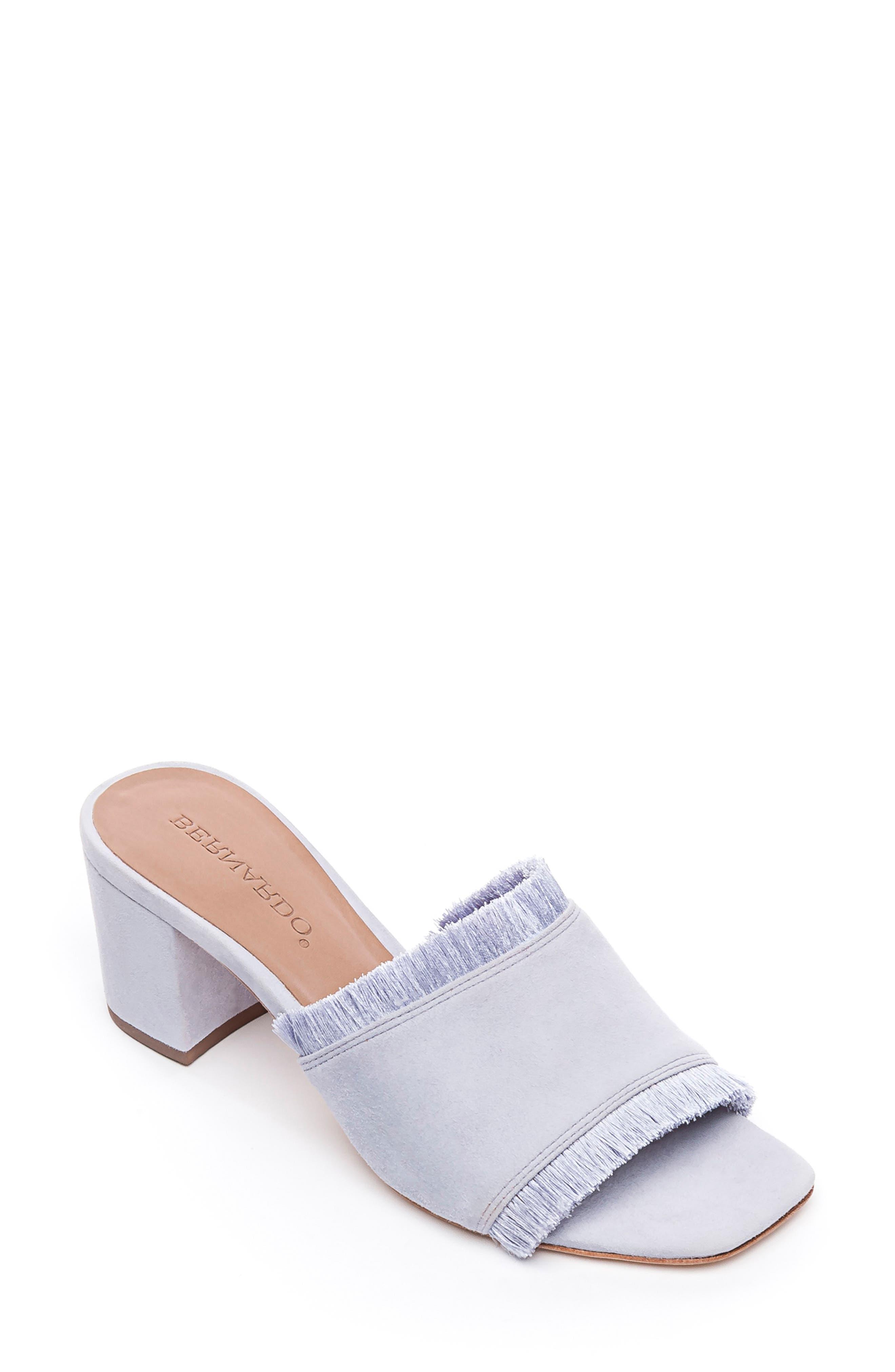 Bernardo Bryn Slide Sandal, Purple