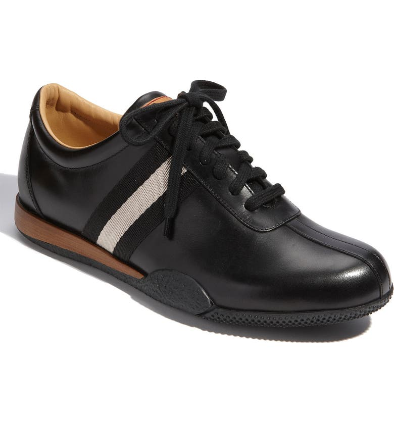 BALLY 'Freenew' Leather Sneaker, Main, color, 001
