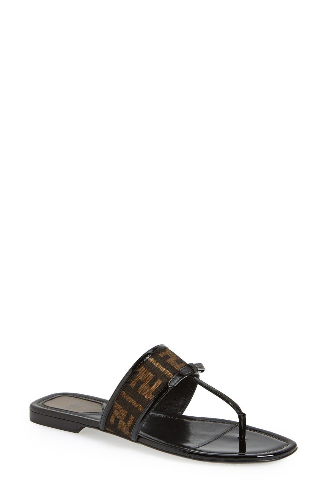 Fendi 'Isabel' Thong Sandal (Women