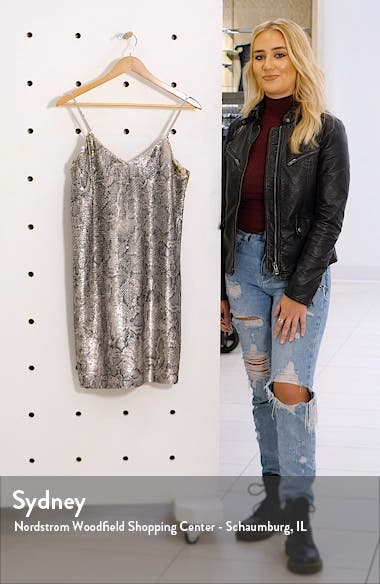 Candice Sequin Slipdress, sales video thumbnail