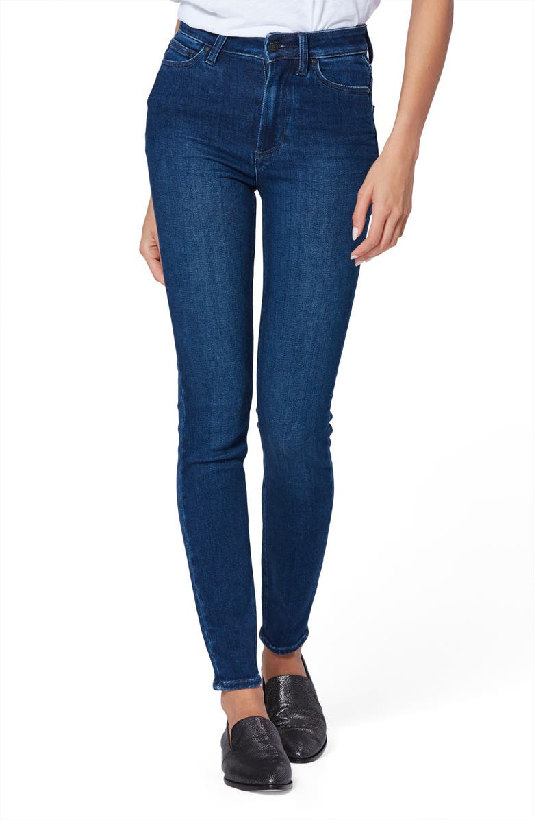 PAIGE Margot High Waist Ultra Skinny Jeans, Main, color, 400