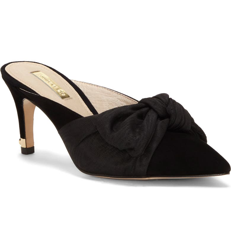 LOUISE ET CIE Kahara Bow Mule, Main, color, 001