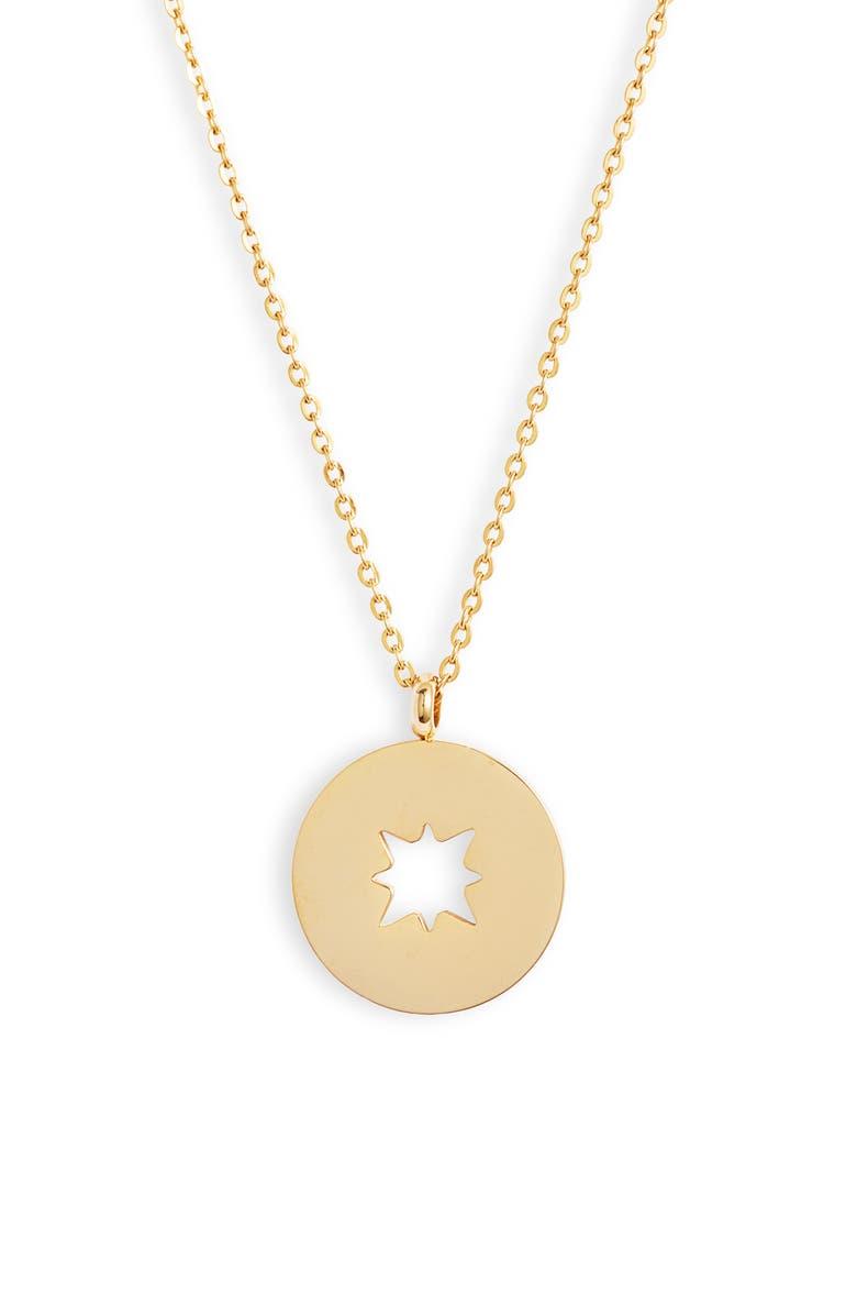 ELLIE VAIL Alana Sunburst Pendant Necklace, Main, color, 710