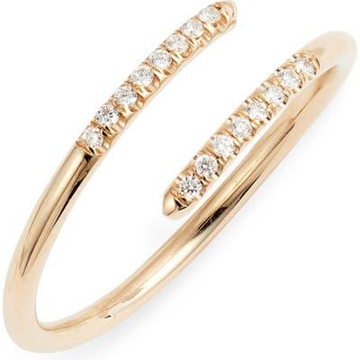 Zoe Chicco Diamond Overlap Ring