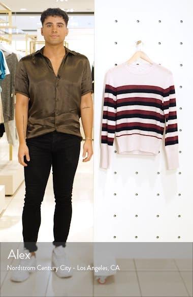 Cielle Stripe Wool & Cashmere Sweater, sales video thumbnail
