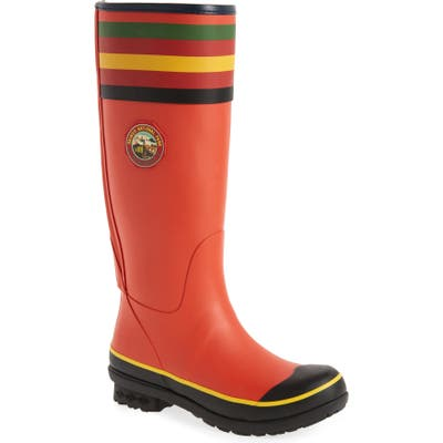 Pendleton Rainier National Park Tall Rain Boot, Red