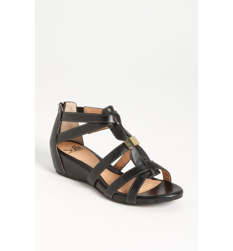 SÖFFT 'Bernia' Sandal, Main, color, 001