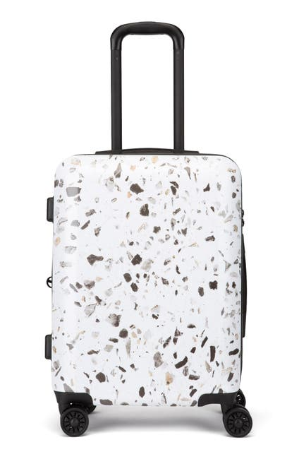 Image of CALPAK LUGGAGE Terrazzo 22-Inch Hard Shell Spinner Carry-On Suitcase