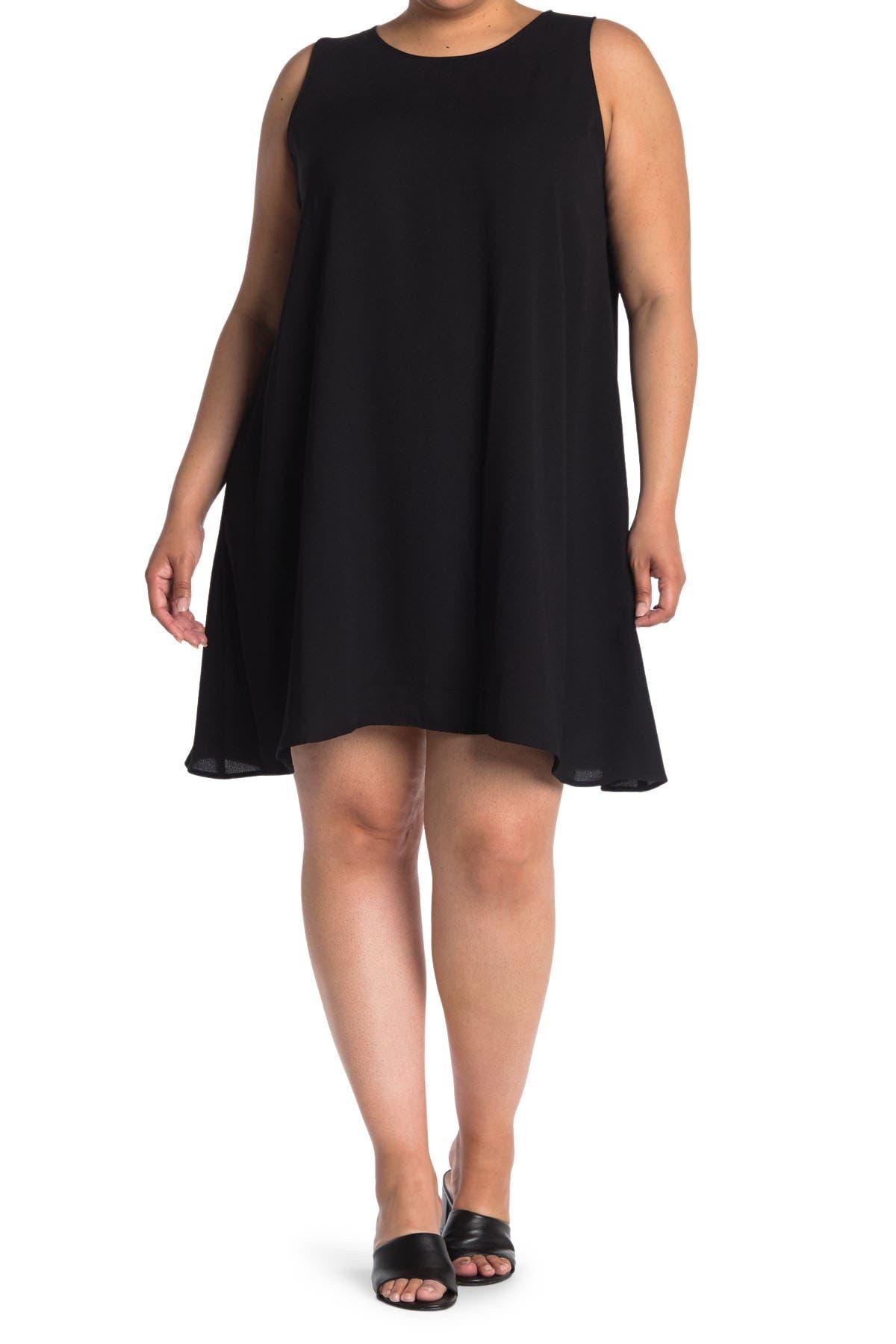 Image of Halogen Sleeveless A-Line Dress