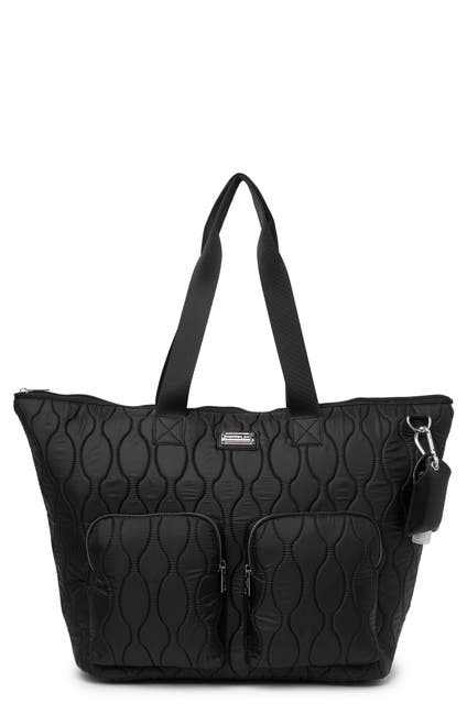 Image of Madden Girl Quilted Weekend Tote Bag